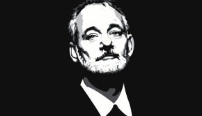 Bill Murray Portrait T-Shirt