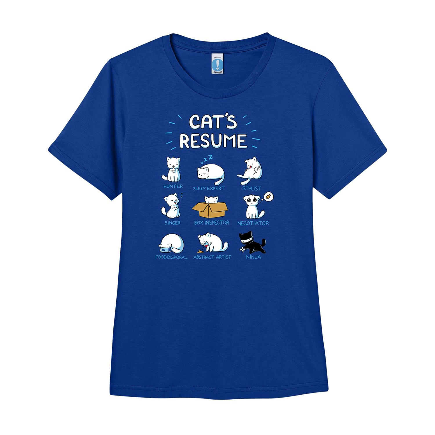 Cat S Resume T Shirt