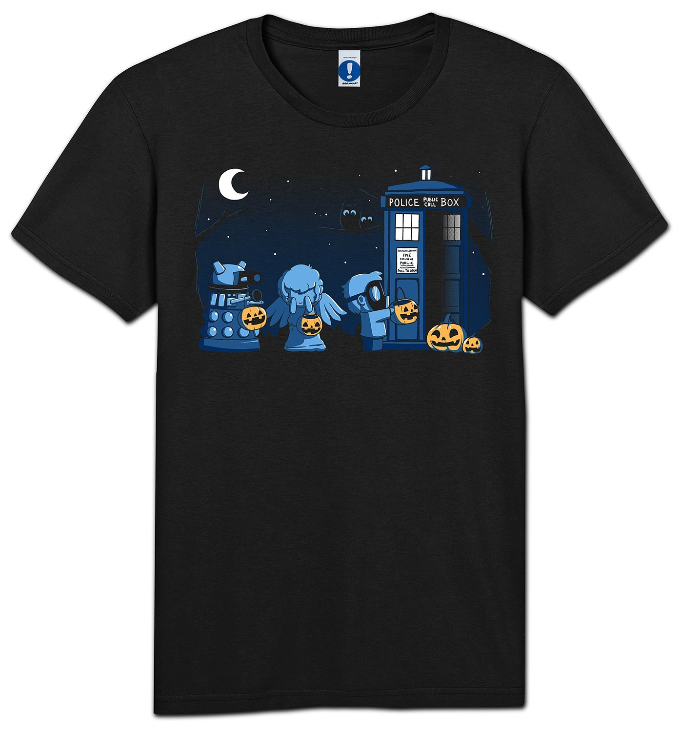 a who halloween t-shirt