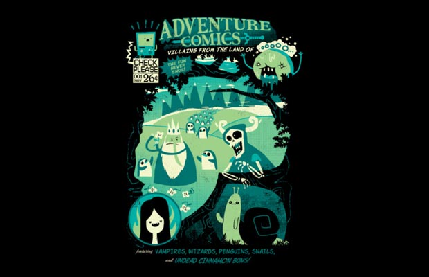 Adventure Comics T-Shirt