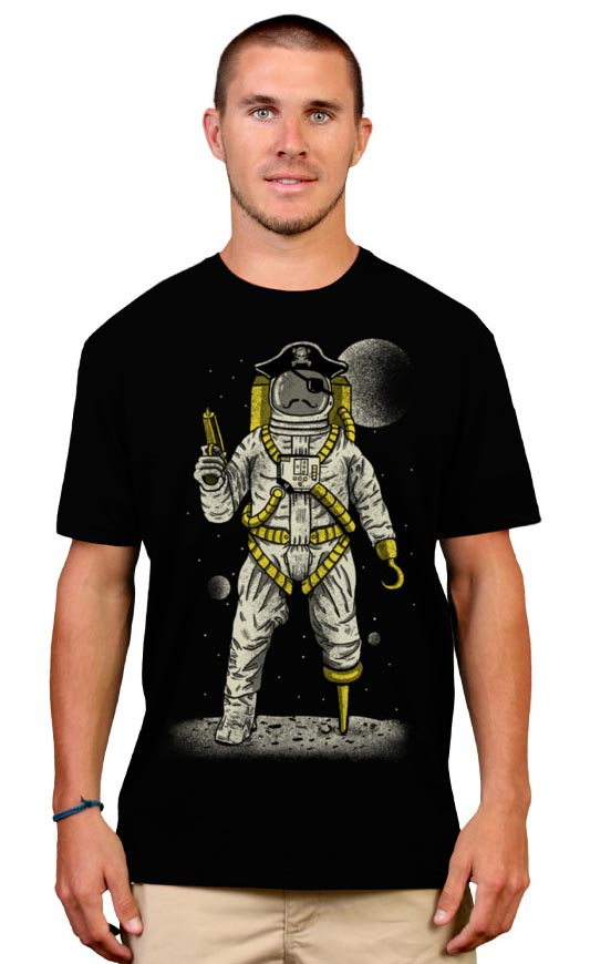 Astronaut Pirate Tee