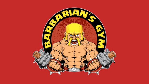 Barbarians Gym T-Shirt