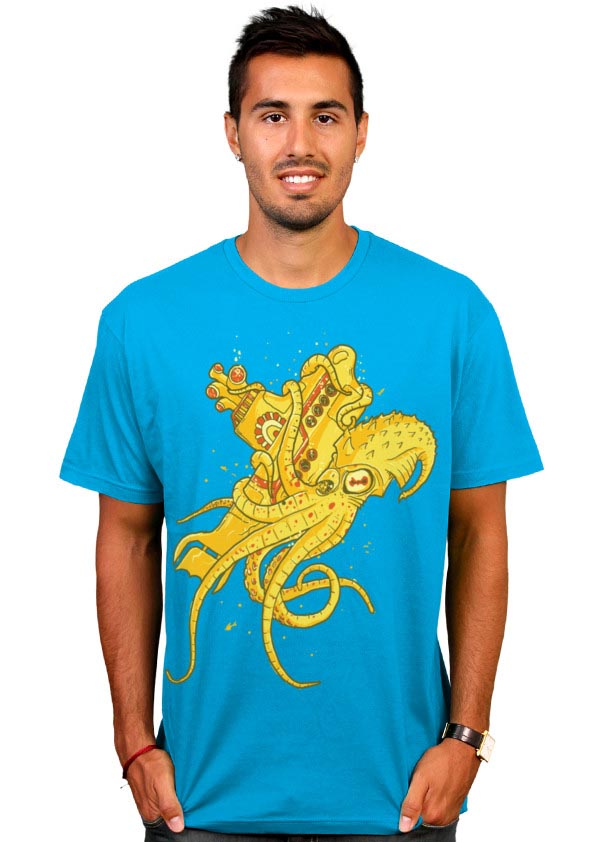 Beatles vs Kraken T-Shirt