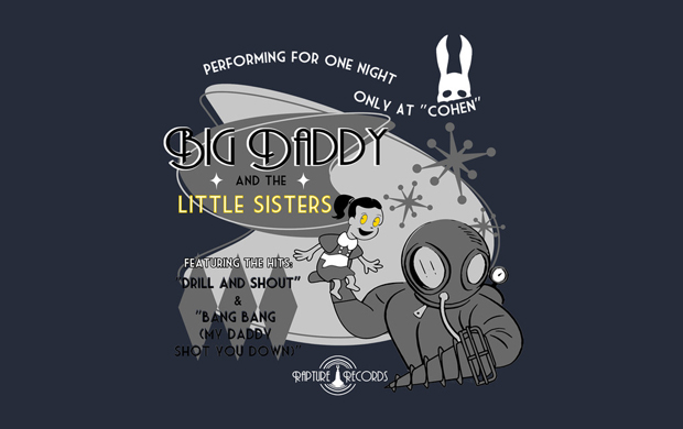 Big Daddy and the Little Sisters T-Shirt
