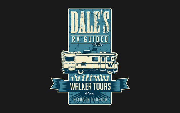 Dales RV Guided Walker Tours T-Shirt
