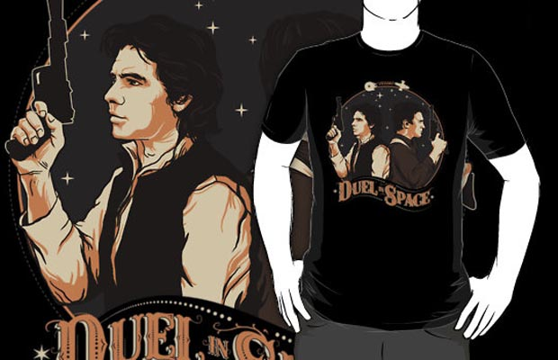 Duel in Space T-Shirt