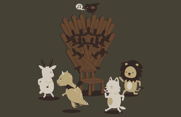 10 game of thrones t shirts fit for a king tshirtonomy. Black Bedroom Furniture Sets. Home Design Ideas