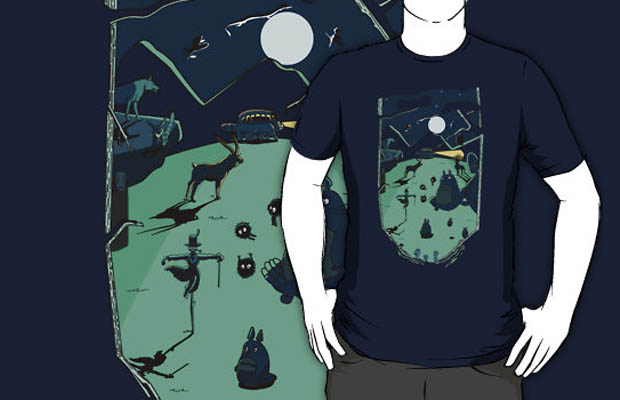 Ghibli Forest T-Shirt