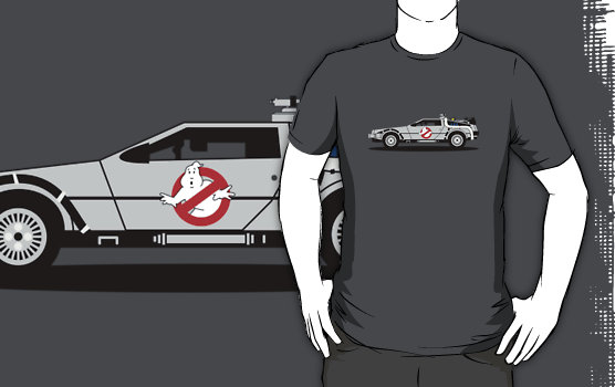 Ghostbusters To The Future T-Shirt