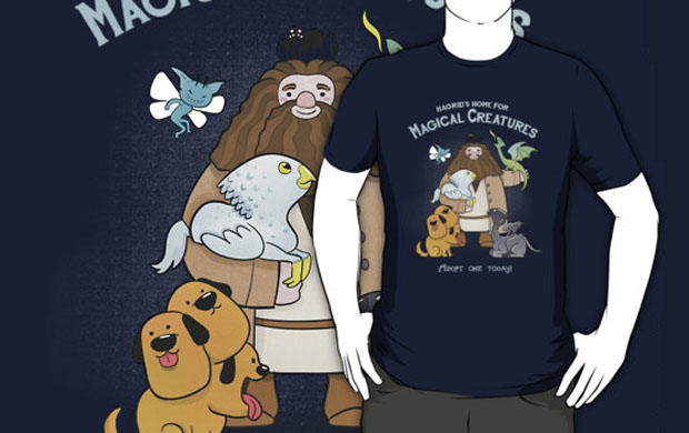 Hagrids Home for Magical Creatures T-Shirt