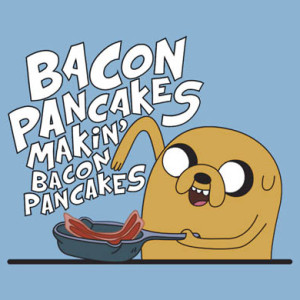 Jakes Bacon Pancakes T-Shirt