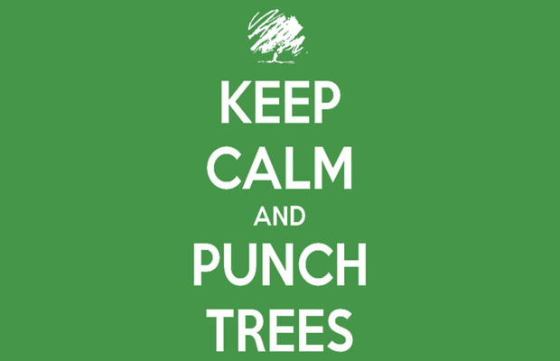 Keep Calm and Punch Trees T-Shirt