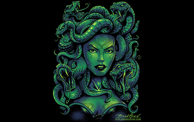 Medusa T-Shirt Design