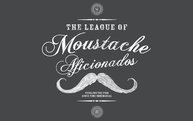 Moustache Afficionado League T-Shirt