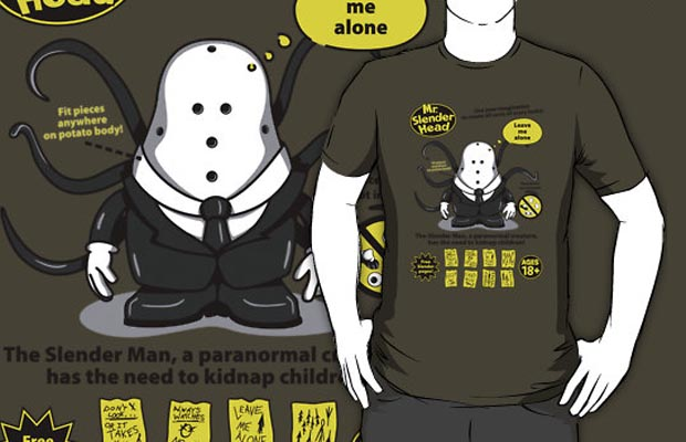 Mr Slender Head T-Shirt