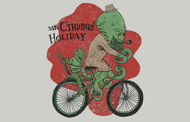 Mr. Cthulhus Holiday T-Shirt