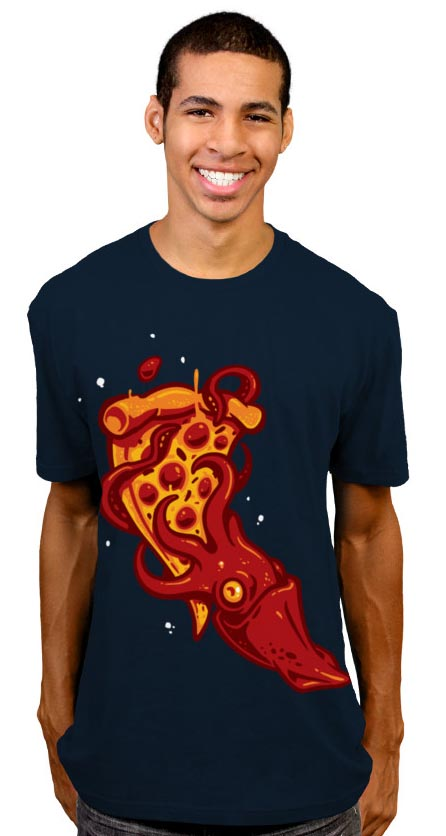 Pizza Kraken T-Shirt