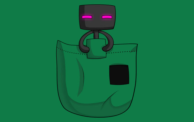 Pocket Enderman T-Shirt