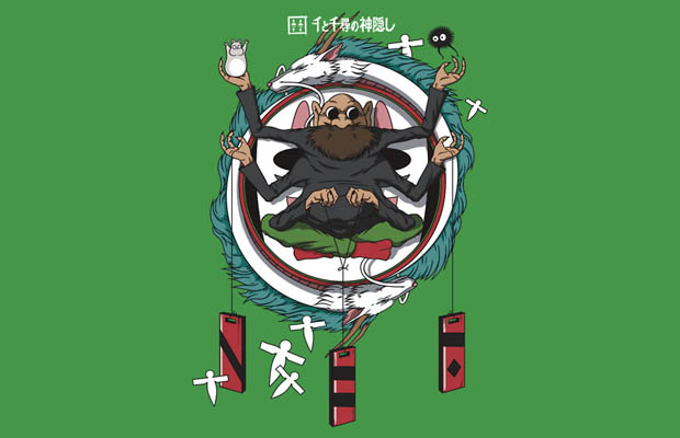 Spirited Away Bath House Crest T-Shirt