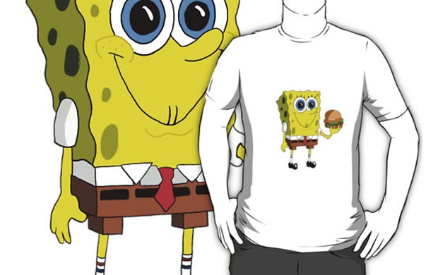 Sponge Bob Krabby Patty T-Shirt