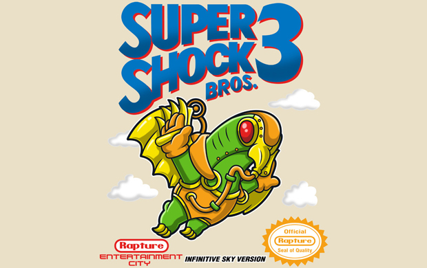 Super Shock Bros 3 T-Shirt