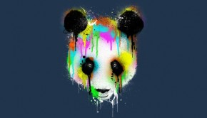 Technicolor Panda T-Shirt