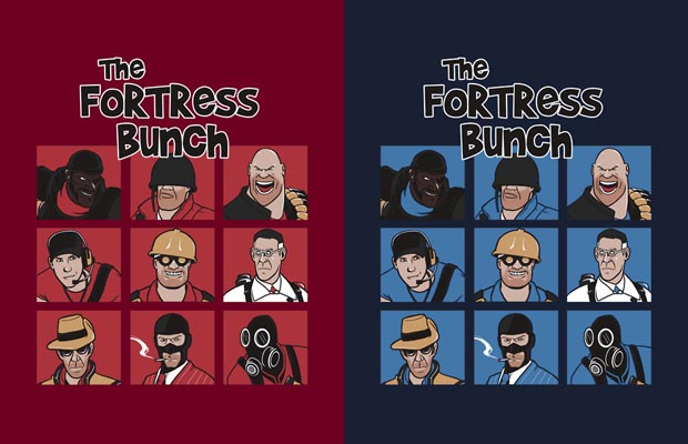 The Fortress Bunch T-Shirts