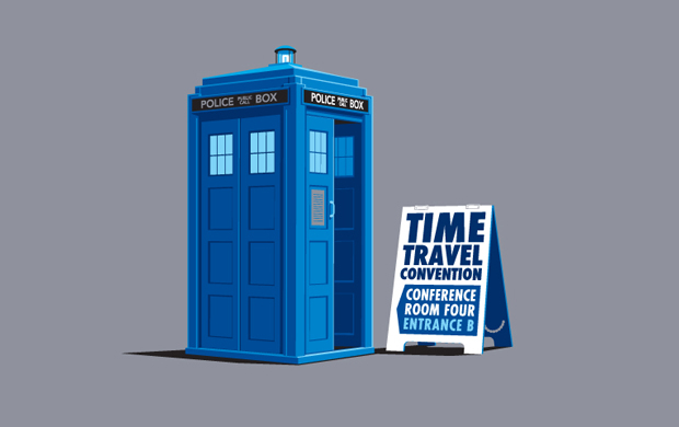 Time Travel Convention T-Shirt