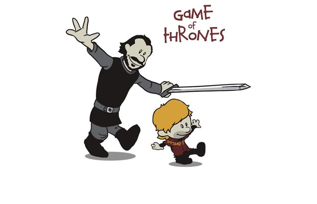 Tyrion and Bronn T-Shirt