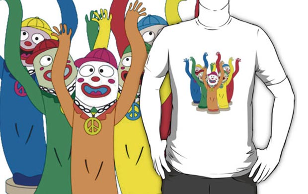 Wacky Waving Inflatable Arm Flailing Tube Man T-Shirt