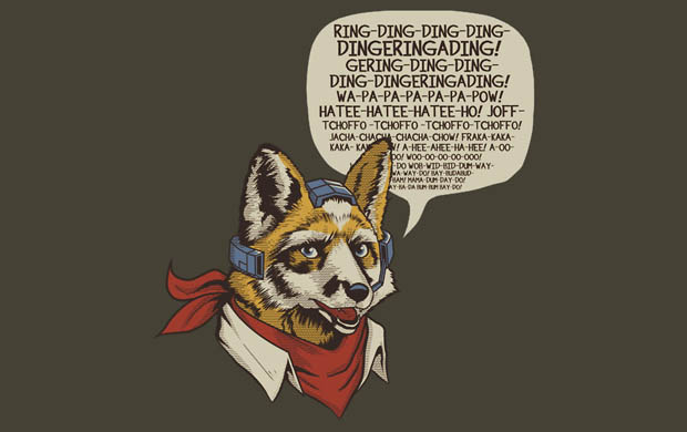What Does the Star Fox Say T-Shirt