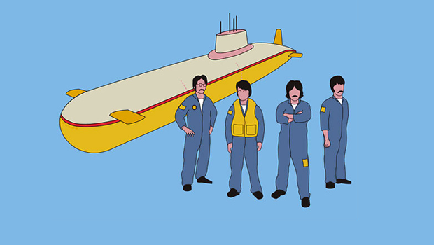Yellow Submarine Tee Shirt